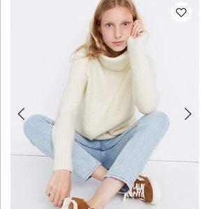 Madewell Mercer Turtleneck Sweater in Coziest Yarn